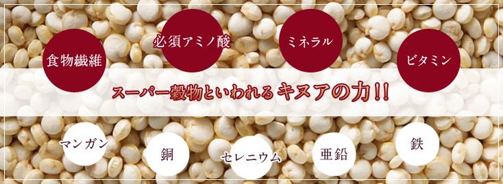 スーパー穀物といわれるキヌアの力!!